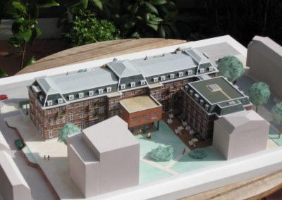Herontwikkeling Ziekenhuis Amsterdam 1:200