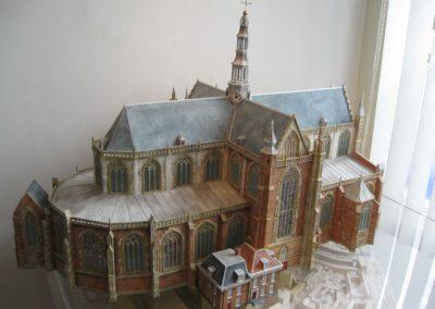 Gotische kerk 1:100