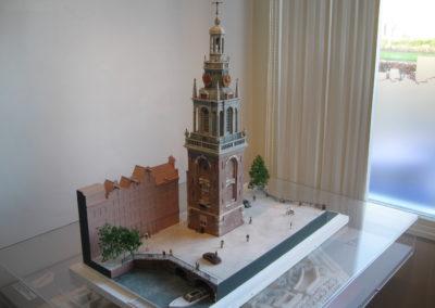 Reconstructie Jan Rodenpoortstoren Amsterdam 1:100