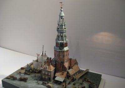 Reconstructie Haringpakkerstoren Amsterdam 1:100