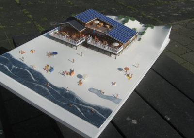 Strandpaviljoen Egmond a/zee, 1:100