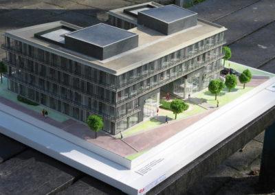 Kantoorgebouw Buitenveldert 1:100