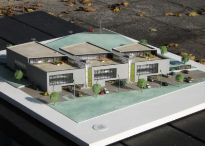 Kantoorgebouw Vista Plaza 1:200