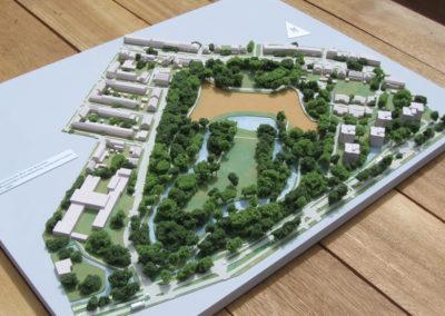 Ontwikkeling Nieuweroord Leiden 1:1000