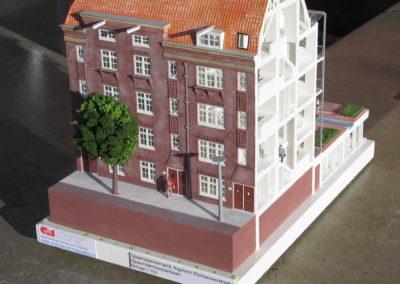 Spaarndammercarre Amsterdam 1:100